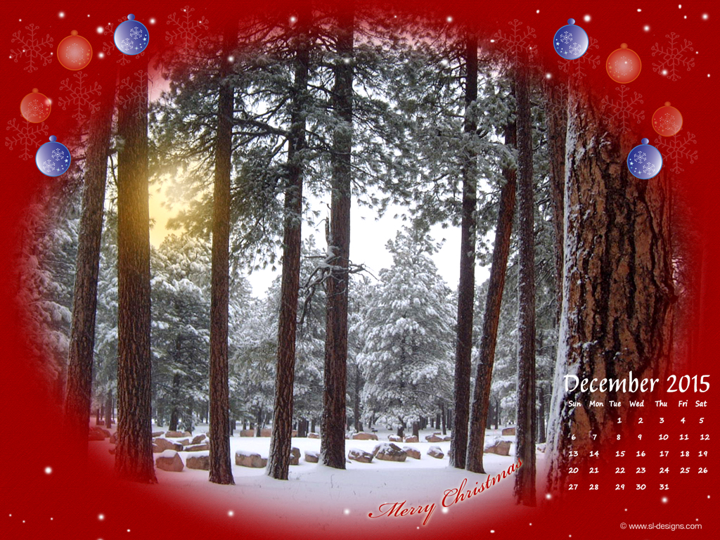Christmas Calendar Wallpaper : December christmas calendar desktop wallpaper