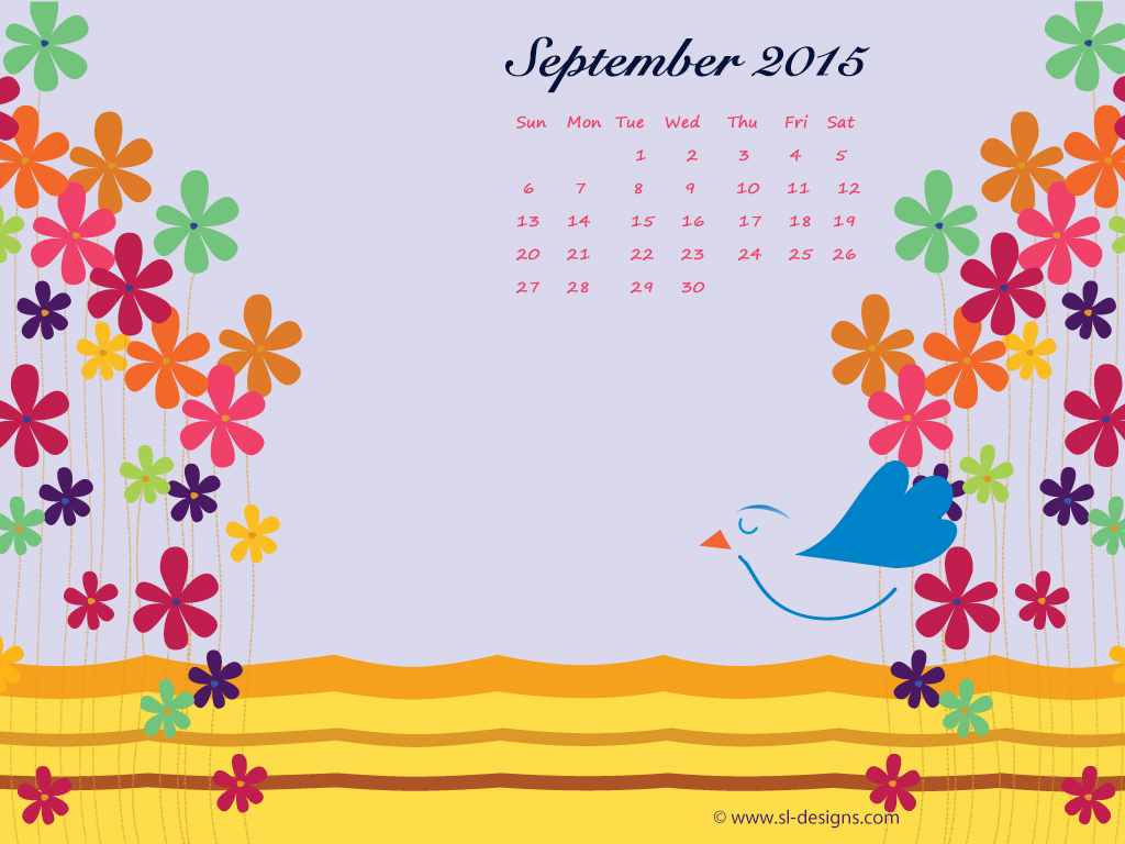 Free Calendar Wallpaper September : September calender desktop wallpaper