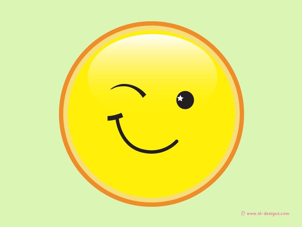 winking smily