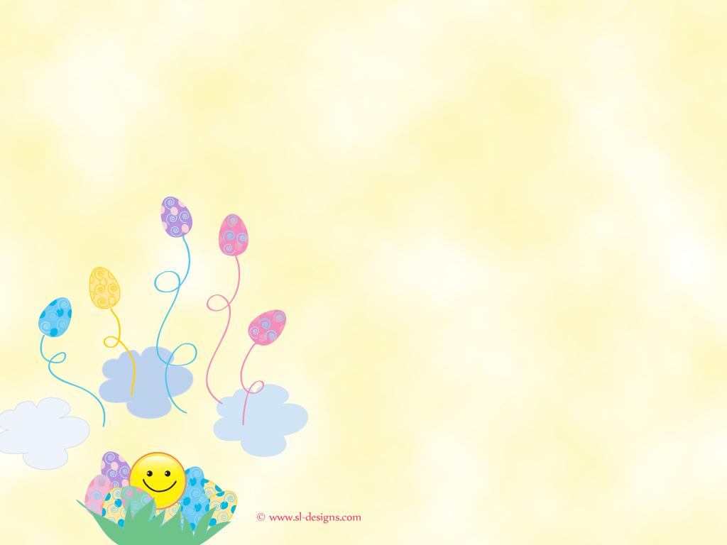 easter desktop wallpaper easter eggs and smiley