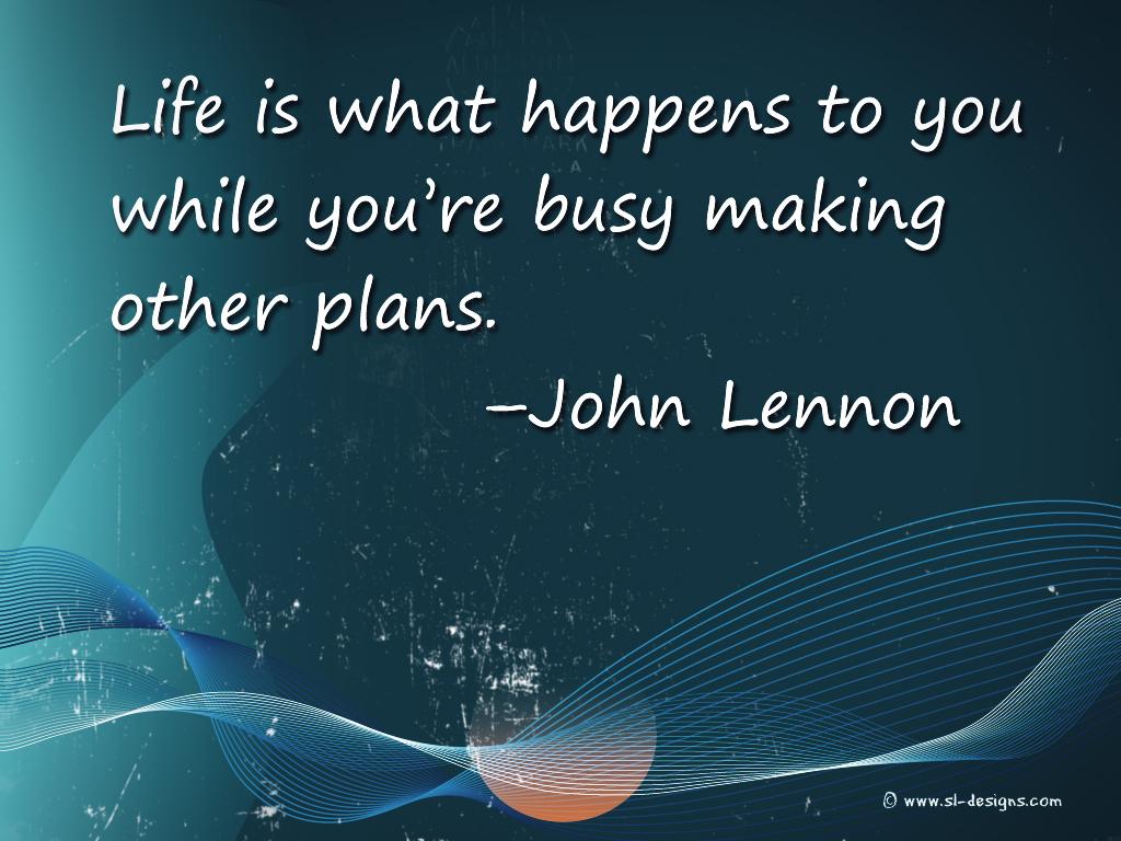 Desktop Wallpaper With Inspirational Quote