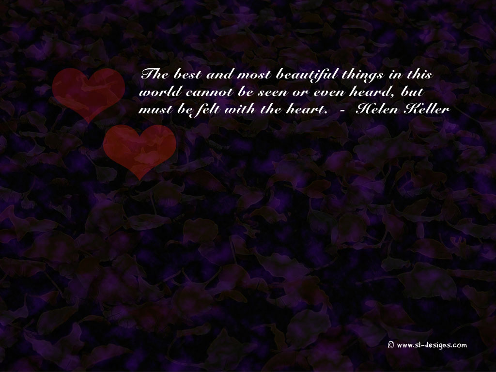 Wallpapers Love Quotes : Love quotes on wallpaperfor your desktop, web site or blog - free!