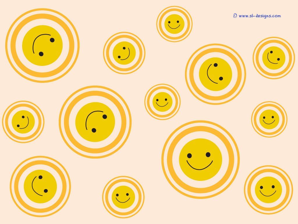 Smiley all around desktop wallpaper smiley wallpaper voltagebd Gallery